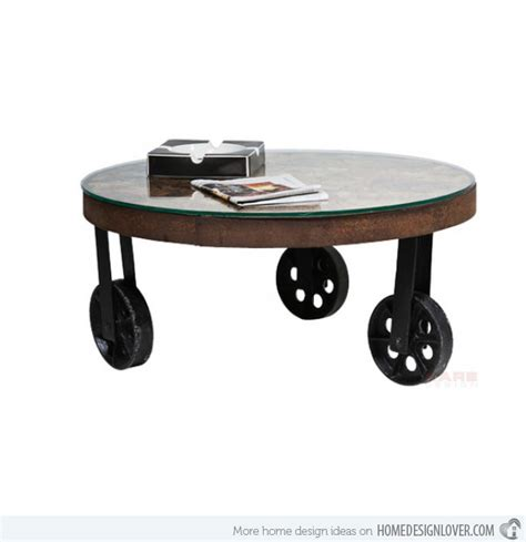 wooden table with wheels coffee tables design stupendous 10 round coffee table
