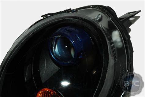 cooper mini projector hid 2008 retrofit headlights conversion blackflamecustoms