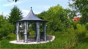 Gartenpavillon Aus Metall : wohnen wohlfuehlen rankpavillon aus metall charmante ~ Michelbontemps.com Haus und Dekorationen