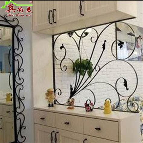 decoration fer forge mural 2017 ou wrought iron high partition wall indoor and outdoor fashion screen partition