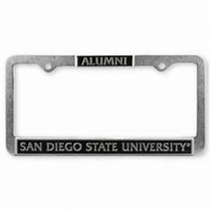Brass Alumni License Plate Frame Polished brass license ...