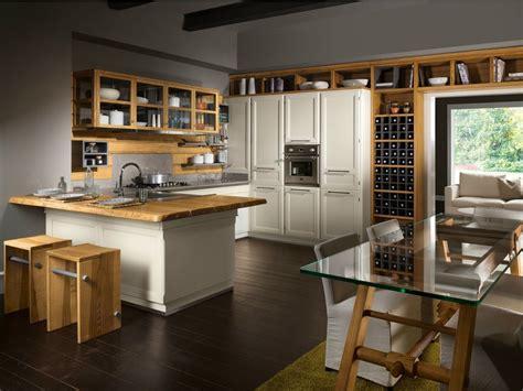 cucina in veranda cucina componibile con penisola living veranda by l ottocento
