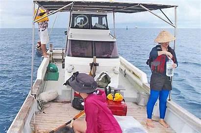 Boat Race Sabani Ride Zamami While Fishing