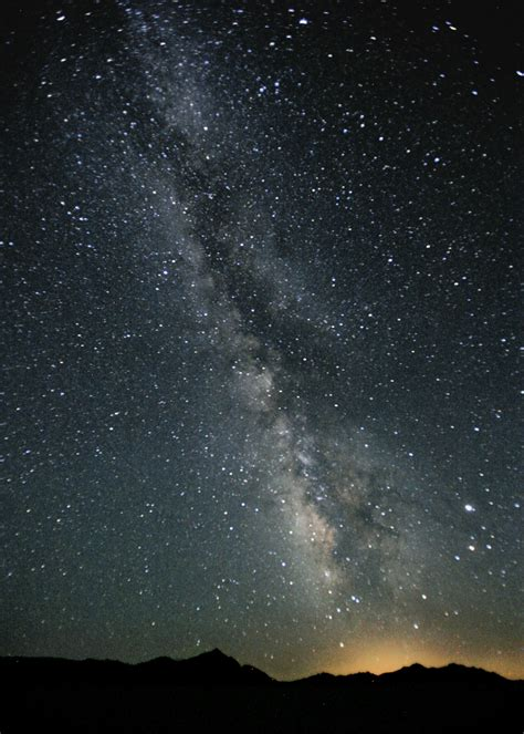 File Milky Way Night Sky Black Rock Desert Nevada