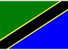 Kostenlose Vektorgrafik Afrika, Flagge, Tansania