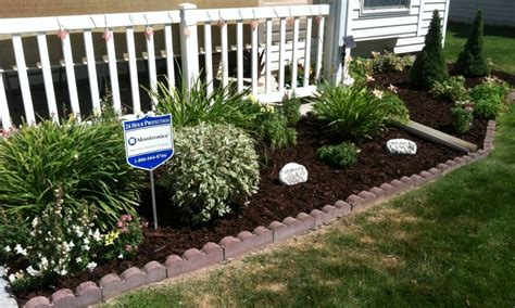 flower garden ideas for front of house landscaping