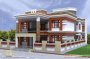 Beautiful Double Story House Plan Indian Home Decor