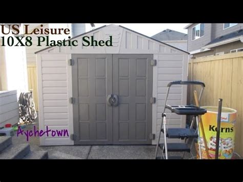 keter stronghold shed us leisure keter stronghold 10x8 plastic shed