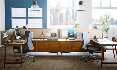 west elm office desk west elm workspace 2 mid century design milk
