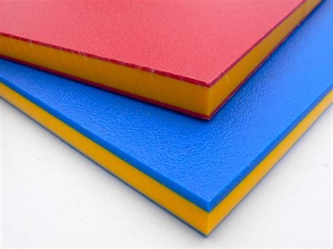 hdpe sheet sandwich colours plastic trade