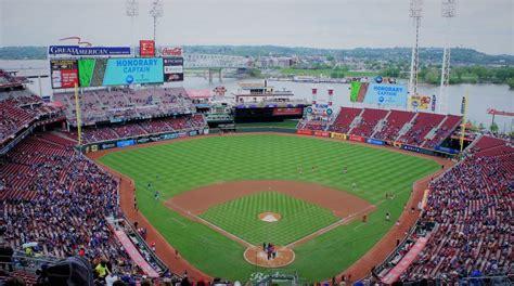 Great American Ball Park  Cincinnati Reds  Stadium Journey