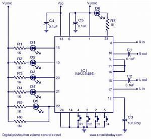 Amf Electronics  Digital Volume Control Circuit