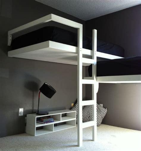 lit superposé avec bureau intégré conforama chambre de style industriel 28 idées pour une chambre