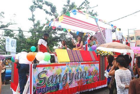 parade float decorations philippines sangyaw pasasalamat parade tacloban city leyte b l a