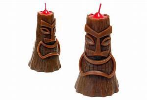 Tiki Volcano Candles - The Green Head