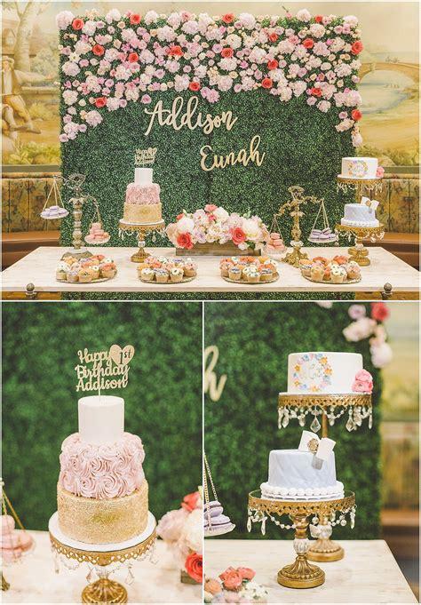 Garden Decoration Themes by S Floral Garden Birthday Baby