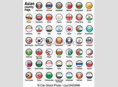 asian country flags eps vectors Search Clip Art