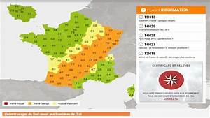 Departement En Alerte Orange : orages 35 d partements en alerte orange ~ Medecine-chirurgie-esthetiques.com Avis de Voitures