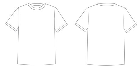 Tshirt Template Png by Tshirt Template Psd Vector Ai Illustrator Png Sublimation