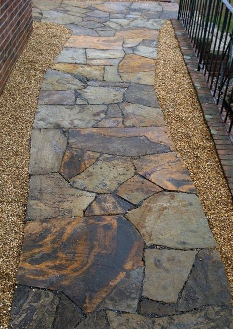 flagstone paths 1000 ideas about flagstone path on pinterest front landscaping ideas walkway ideas and yard