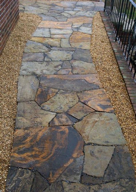 17 best ideas about flagstone path on walkway