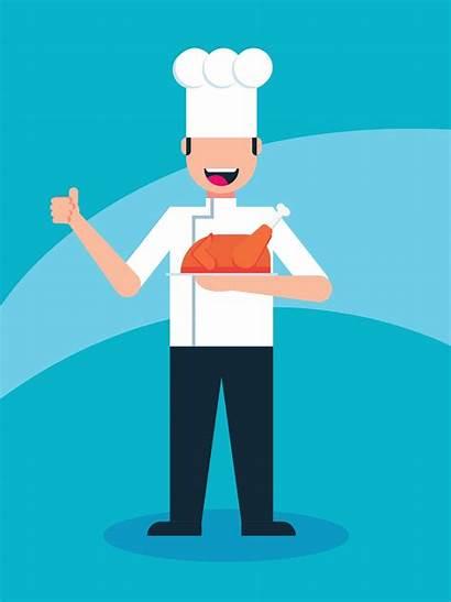 Chef Cool Vector Clipart Graphics Vectors