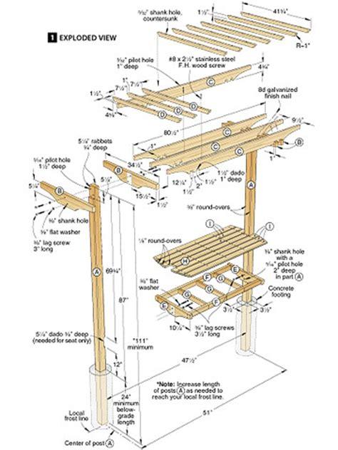trellis parts plans diy   build
