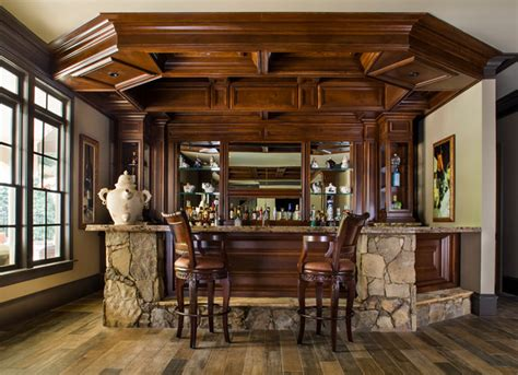 Bars For Your Home by 15 Astonishing Traditional Home Bars For Your Daily