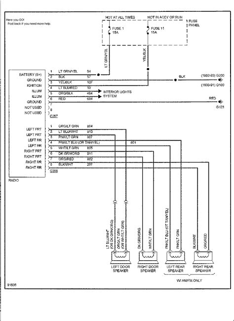 2012 ford focus radio wiring diagram 2012 ford focus stereo wiring diagram