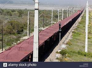 The longest train in the world. An iron-ore train ...