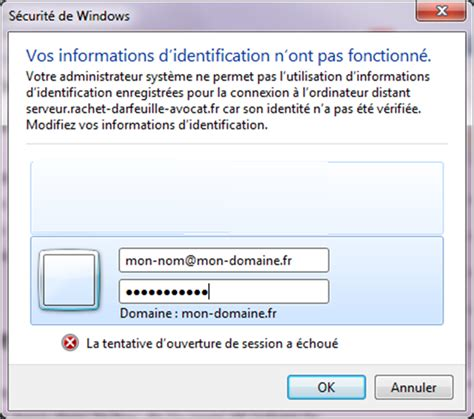 windows 7 bureau a distance se connecter à bureau distant tse rdp noobs