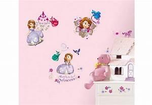 Sticker Für Die Wand Kinderzimmer : joy toy wandsticker sofia die erste wandtattoos ~ Michelbontemps.com Haus und Dekorationen