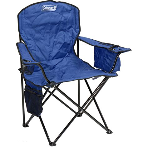 Coleman Oversized Chair With Cooler Pouch by Coleman Oversized Chair With Cooler Blue 2000020266 B H
