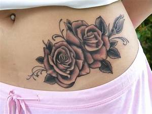 Cover Up Tattoos Flowers Flower Tattoo On Hip Rose Tattoo ...
