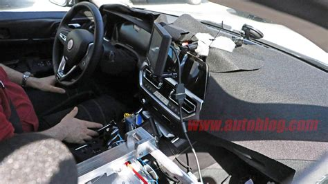 bmw  electric vehicle spied  testing  interior