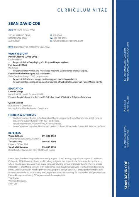 Cv Format For by Cv Formats Notes New Cv Format 2013 Simple Cv Format