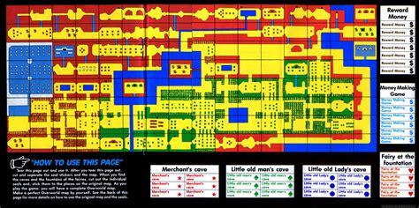 legend  zelda map