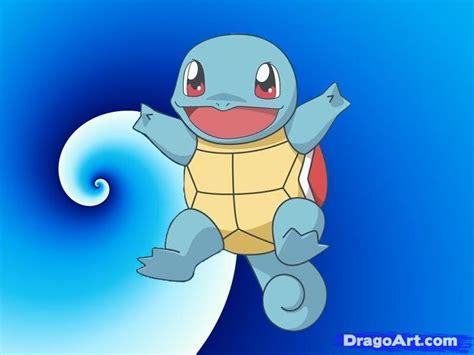 draw squirtle  pokemon step  step pokemon