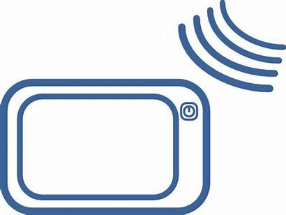Gps Icon Clip Navigation Clipart Signal Sat