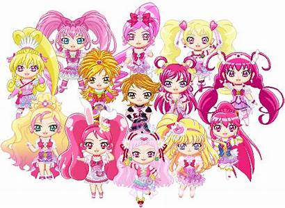 Precure Pink Leaders Cure Pretty Deviantart Star
