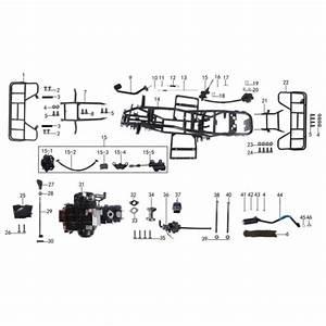 Parts For Frame And Engine For Atv Taotao Ata 125 D
