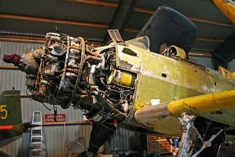 douglas ad  skyraider se ebc  restoration
