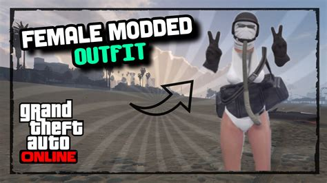GTA ONLINE HOW TO CREATE A FEMALE *MODDED OUTFIT* [USING CLOTHING GLITCHES] u0026quot;RAREu0026quot; SOLO PATCH 1 ...