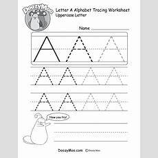 A Tracing Worksheets