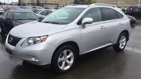 pre owned silver  lexus rx  awd review sherwood