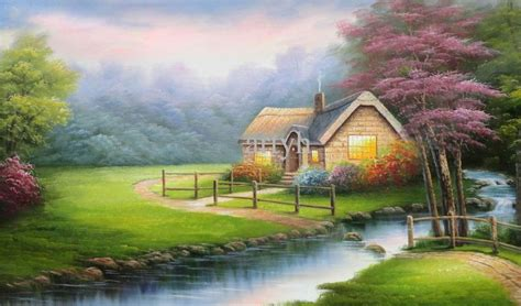 beautiful hut nature wallpaper download - HD Wallpaper