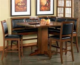 corner dining room set counter height corner breakfast nook chicago dining room place