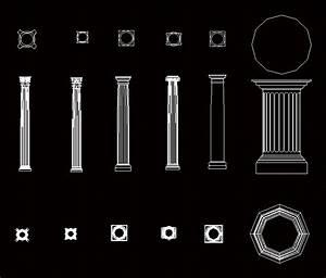 Column Dwg Block For Autocad  U2022 Designs Cad