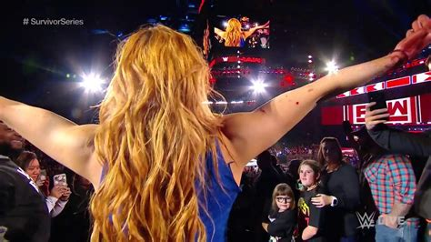 becky lynch  busted open  wwe raw  survivor