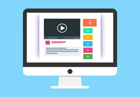 video template foto free vector graphic youtube website page layout free